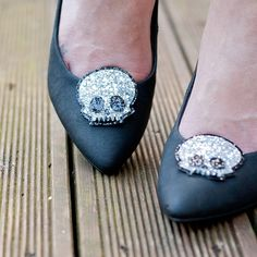 These are so fun. Glitter Shoeclips by HeadFullofFeathers, $18.00