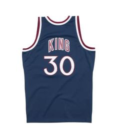 35e5490f4 Bernard King 1982-83 New York Knicks Road Swingman Jersey