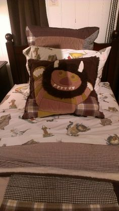 Where the Wild Things Are bedset from Pottery Barn Kids.