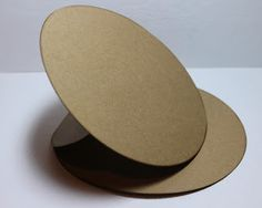 round easel card base
