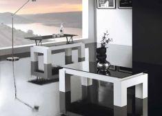 Table basse en bois : Modèle LUZ