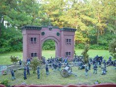 Cemetery Hill, Gettysburg 1/72nd