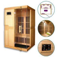 Sauna infrarouge Missandei - 2 places