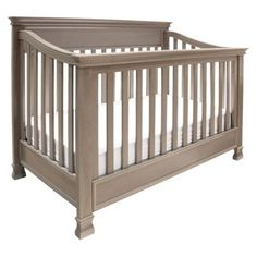 Million Dollar Baby Classic Foothill 4-in-1 Convertible Crib - Weathered Grey