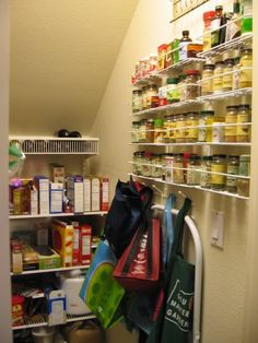 pantry under stairs - Google Search