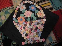 Yo Yo Flower Basket by treasureup, via Flickr