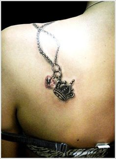 Crown and thereby tattoos - 50 Meaningful Crown Tattoos  <3 <3