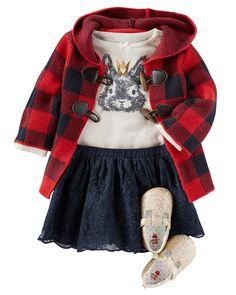 Adoring this coat ! OKF16SEPTBABY24 | Carters.com
