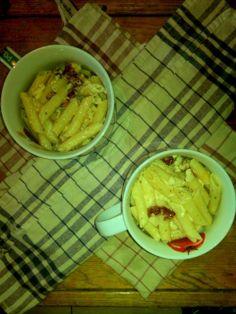 Baked carbonara pasta