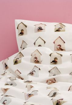 88e16b0c392 Studio Ditte Birdhouse duvet cover - junior size - pastel - kidsroom -  girlsroom - kids · KinderkamerKinderbeddenDekbedovertrekkenBeddengoed