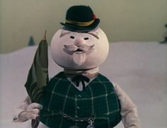 Burl Ives as Sam Snowman - Rudolph the Red Nosed Reindeer