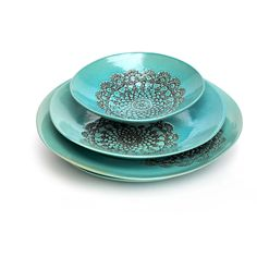 Turquoise Lace Series