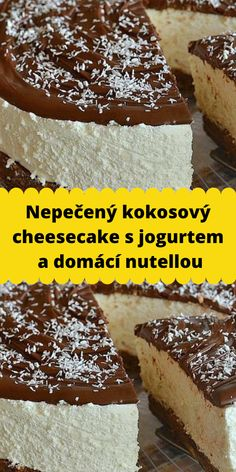 Nutella, Tiramisu, Cheesecake, Eat, Ethnic Recipes, Food, Cheesecake Cake, Cheesecakes, Essen