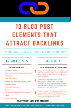 how to get backlinks for blog posts High Quality Images, Seo, How To Get, Facts, Content