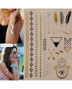 Flash Gold Tattoo Geçici Dövme Altın/Gümüş 30 Son dönemin modası altın ve gümüş desenli flash tattoo gold tattoo geçici dövmeler Leydika.com'da! #flashtattoo #flashtats #dövme #tattoo #altındövme #altindovme #geçicidövme #altın #gümüş #aksesuar #trend #style #fashion #parlakdövme #parlakdovme #moda #gecicidovme #bodrum #cesme #plajmodasi #girlingtattoo #flashtattoos #silvertattoos #temporarytattoos #jewelrytattoos