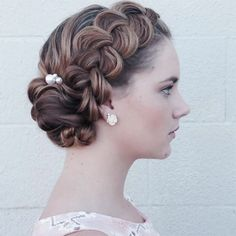 Bridal Updos by Heather Chapman Hair ~ we ❤ this! moncheribridals.com