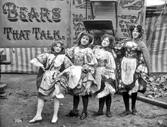 The three main circus shows photographed by Herbert Cooper were Duffy's Circus, Buff Bill's American Circus and Hanneford's Canadian Circus. A few circus Vintage Circus Performers, Circus Photography, Circus Show, Circus Circus, Circus Acts, Tuck Everlasting, Classic Portraits, Scary Clowns, Photo Series