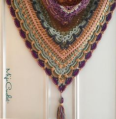 Lost In Time shawl. image 2 Free download from Ravelry.
