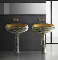 Gong - marble basin by Kreoo
