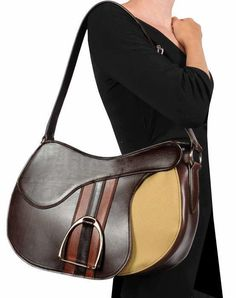 Equestrian English Saddle Inspired Purse Purses And Handbags Leather Outfits