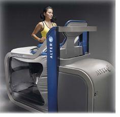 Anti-gravity treadmill
