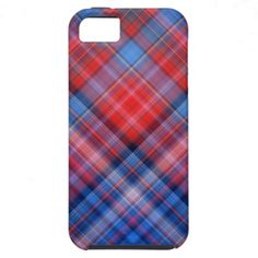 Red Blue iPhone 5 Cover