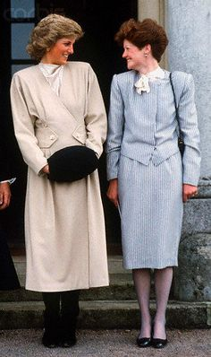 Diana and her sister Lady Sarah who was a Lady in Waiting to Diana.