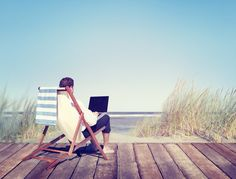 Want to start working remotely and leave the rat race? Enter your email address for a list of 20 websites to find remote work. Start living your adventurious life today! Amazon Fba Business, Outdoor Chairs, Outdoor Furniture, Social Media Detox, Flexible Working, Quitting Your Job, Business Design, Sun Lounger, Flexibility