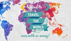 How do regular people afford to travel the world?   Nomad Wallet