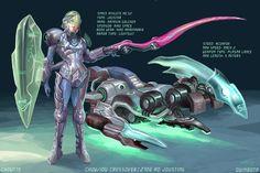 future tech:jousting Martial Arts Weapons, Hp Spectre, Sci Fi Characters, Future Tech, Cyberpunk, Science Fiction, Concept Art, Character Design, Bike
