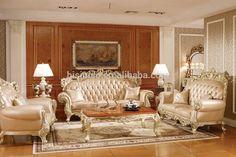 Victoria estilo tallado sofá de madera maciza, Luxury living room furniture sofá chesterfield-imagen-Conjuntos de muebles antiguos-Identificación del producto:60247248855-spanish.alibaba.com