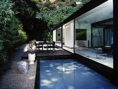 Case Study House #21 | Walter Bailey House | Pierre Koenig | 1958 | Photographed by Julius Shulman
