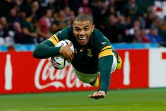 Retransmission of with alternative crop Bryan Habana of South Africa goes over for their third try during the 2015 Rugby World Cup Pool B match. Springbok Rugby Players, Rugby World Cup 2023, Cuba, Walk For Life, South Africa Rugby, Wales Rugby, Latest Sports News, Bone Health, Physical Activities