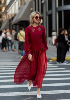The Best Street Style At New York Fashion Week Spring Summer 2018 #women'sfashionstyleideas