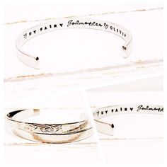 Godmother Gift Personalized Jewelry Womens by GlamAndCoJewellery