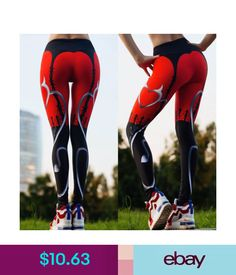 90d6139354b6d Sportswear Women's Yoga Fitness Leggings Run Gym Stretch Sports High Waist Pants  Trousers K #ebay #Fashion