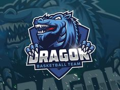 Fiverr freelancer will provide Logo Design services and design an awesome mascot for sport or esport logo including # of Initial Concepts Included within 3 days Logo Design Services, Custom Logo Design, Dragon Sports, Esports Logo, Sports Graphics, Dragon Design, Cool Backgrounds, Basketball Teams, Design Reference