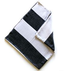 Mighty Stripe Towel Charcoal, $32, now featured on Fab.