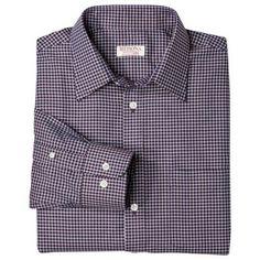Merona® Men's Ultimate Dress Button Down - Burgandian Wine Fitted Dress Shirts, Shirt Dress, Button Dress, Work Shirts, Dapper, Work Wear, Wine, Classic, Fitness