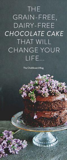 This #chocolatecake recipe is to die for... #sweetlaurelbakery #dairyfree #glutenfree