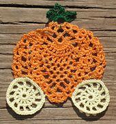 Ravelry: Pumpkin's equipage motif pattern by Chinami Horiba... Free pattern!