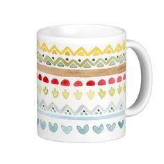 Aztec mug by Paloma Navio