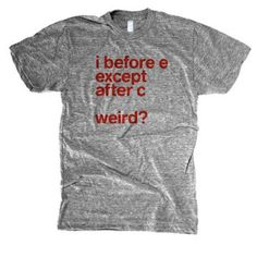 English teacher shirt! LOL - Click image to find more Humor Pinterest pins