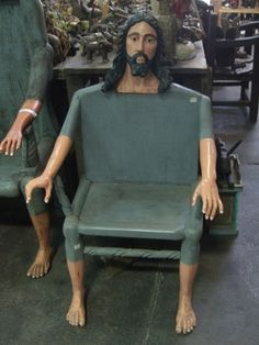 Take a sit on Jesus's knees !!! Want one for home !!!!