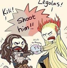 Shoot Him! and I can sooo see this happening for real