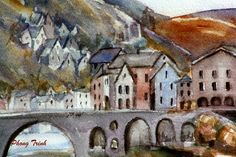 Art gallery of Phong Trinh Watercolor. Buy Paintings, Watercolor Paintings, France, Fine Art Prints, Art Gallery, Drawings, Illustration, Art Museum, Draw