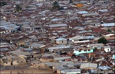 Liberia's largest slum, Westpoint