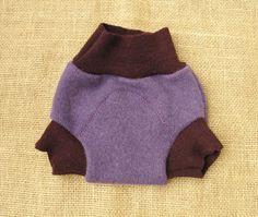 Cashmere/merino wool soaker diaper cover  by sosimplenatural, $11.00
