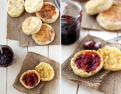 Homemade-English-Muffins....so doing this this week!  ***STATUS: DONE! So easy and tasty...bread without the cost of heating up the oven. (I just did them on the stovetop)