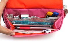 Nomadic PE-09 Flap Type Pencil Case - Light Pink - NOMADIC EPE 09 L.PINK